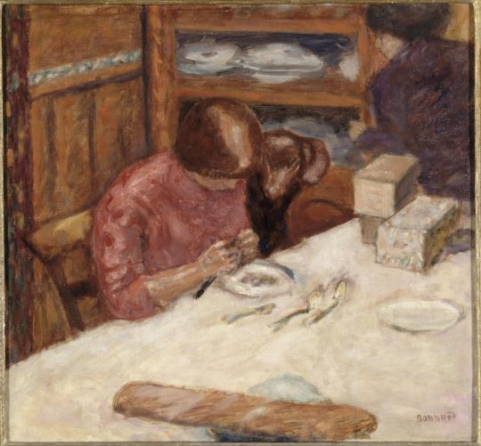 Pierre bonnard int rieur ou la femme au chien images d art for Interieur francais