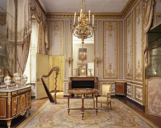 Le Grand Cabinet Int 233 Rieur De La Reine Ou Cabinet Dor 233