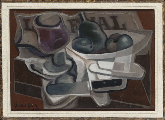Georges braque fruit dish and glass