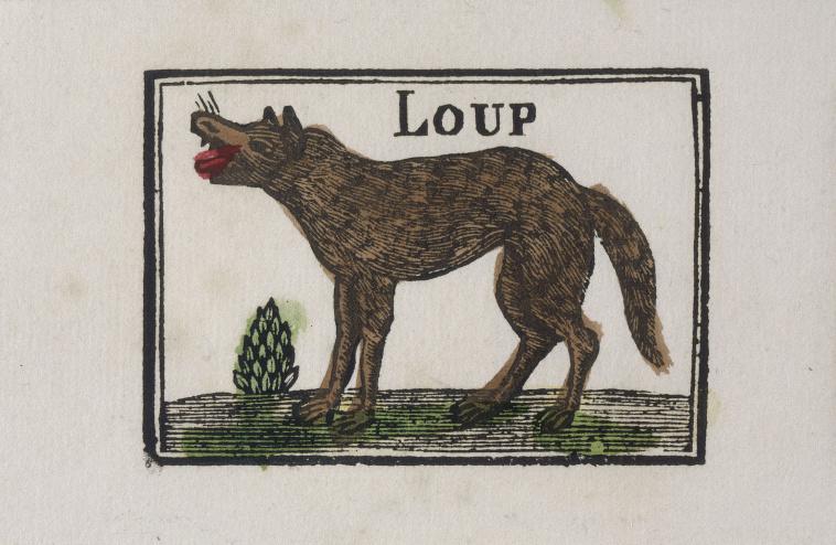 Sbp loups dans l 39 art images d art - Victor brauner loup table ...