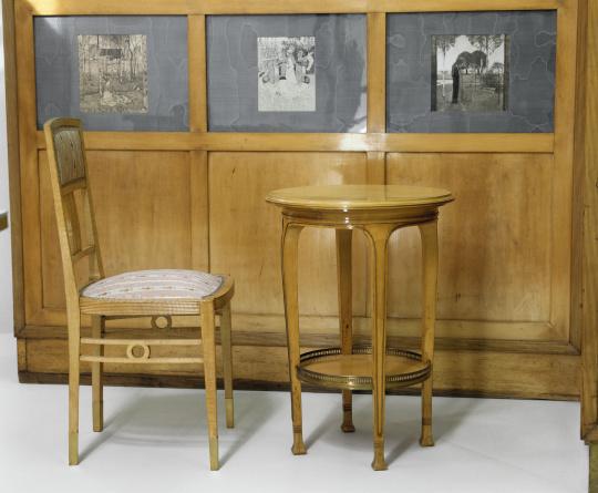 Adolph loos partie d 39 un mobilier de chambre coucher for Mobilier de chambre a coucher