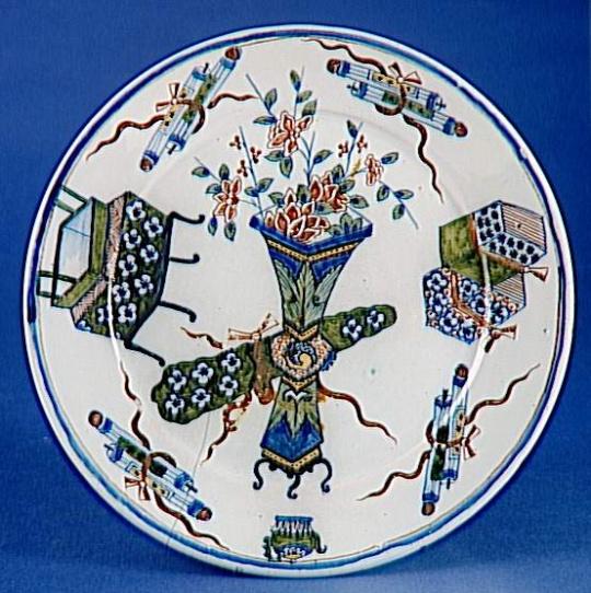 assiette d cor l 39 chantillon extr me oriental images d art. Black Bedroom Furniture Sets. Home Design Ideas