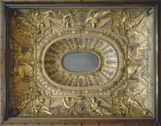 Chambre Bebe Meuble Martin : Gilles Guérin  Plafond de la chambre à coucher de Louis XIV