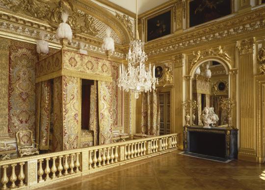 """Résultat de recherche d'images pour """"Chambre de Louis XIV"""""""