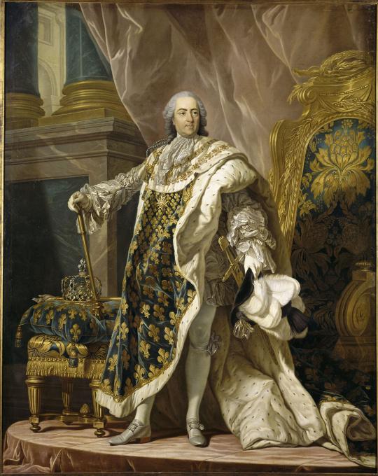 Louis michel van loo atelier de portrait de louis xv roi de france 1710 - Ateliers d arts de france ...