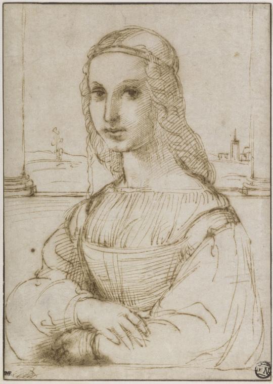 Portrait by Raffaello