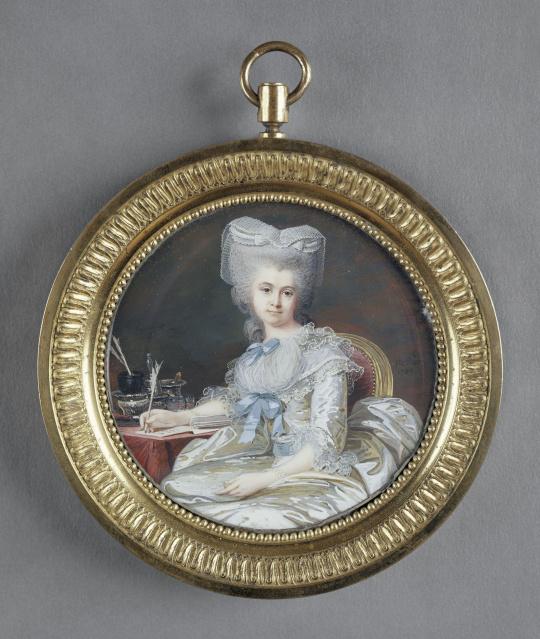 jean laurent mosnier portrait de la duchesse de chatillon images d art. Black Bedroom Furniture Sets. Home Design Ideas