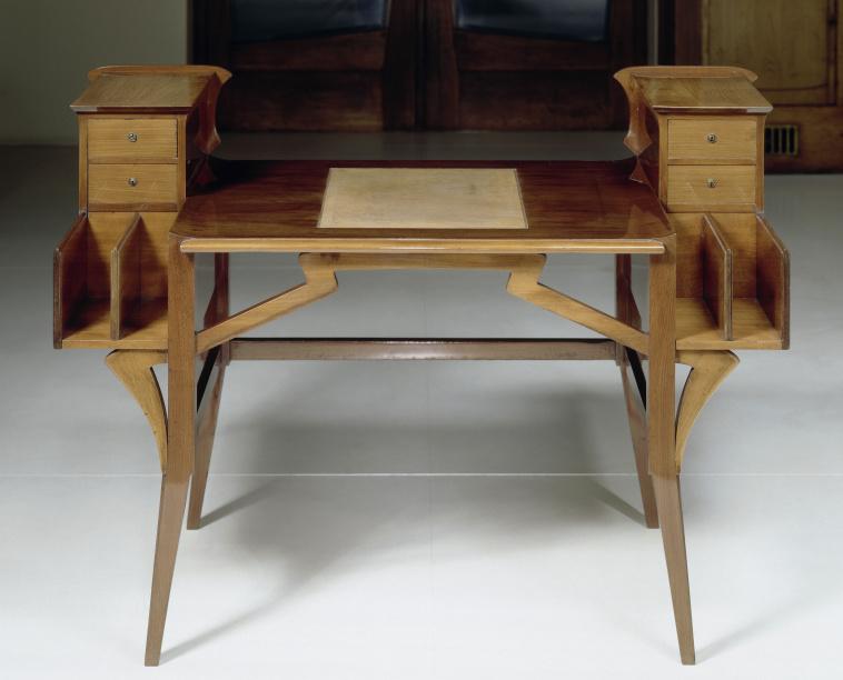 Henry van de velde ecritoire et fauteuil images d art for Bureau meuble wikipedia