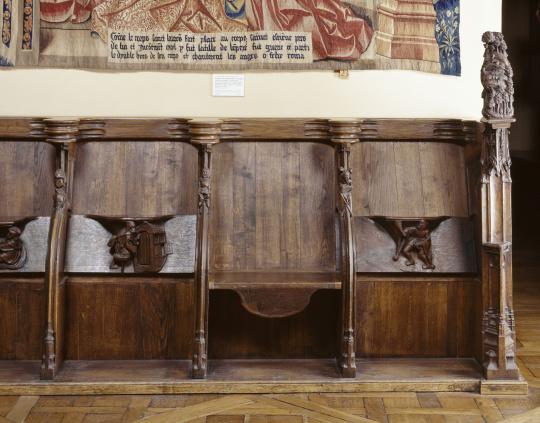 onze stalles provenant de lglise saint lucien de beauvais images dart aglise saint lucien de