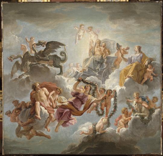 Cabinet Painting Jupiter
