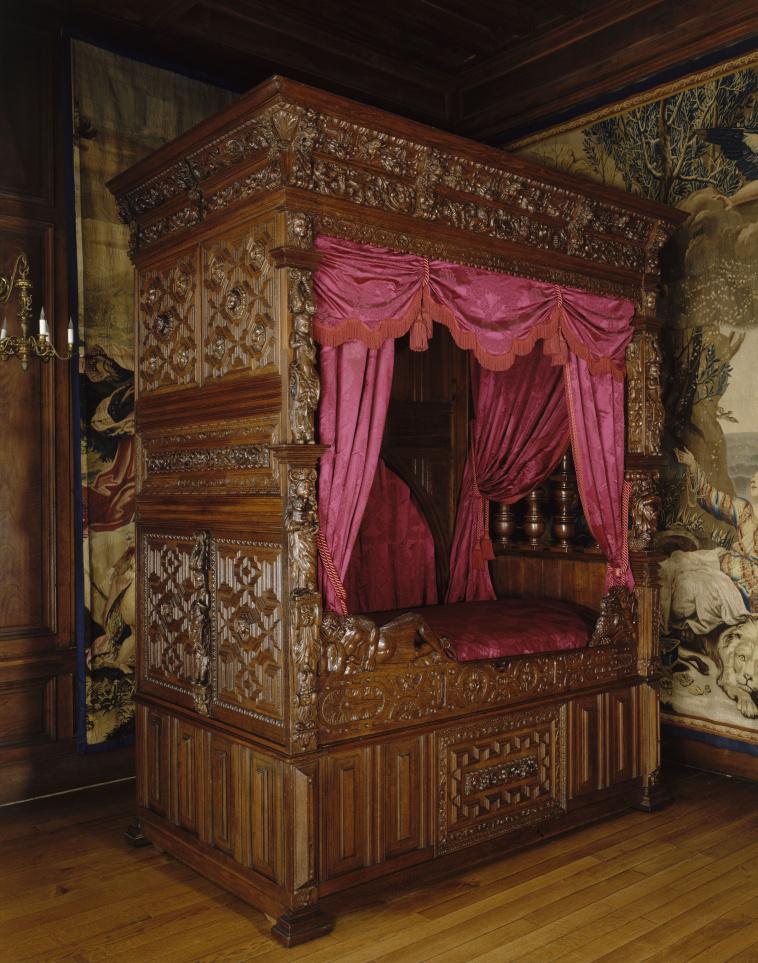 Appartement du Pape  Louis XIII, chambre à coucher