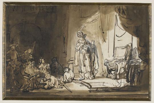 rembrandt joseph et ses fr res images d art. Black Bedroom Furniture Sets. Home Design Ideas