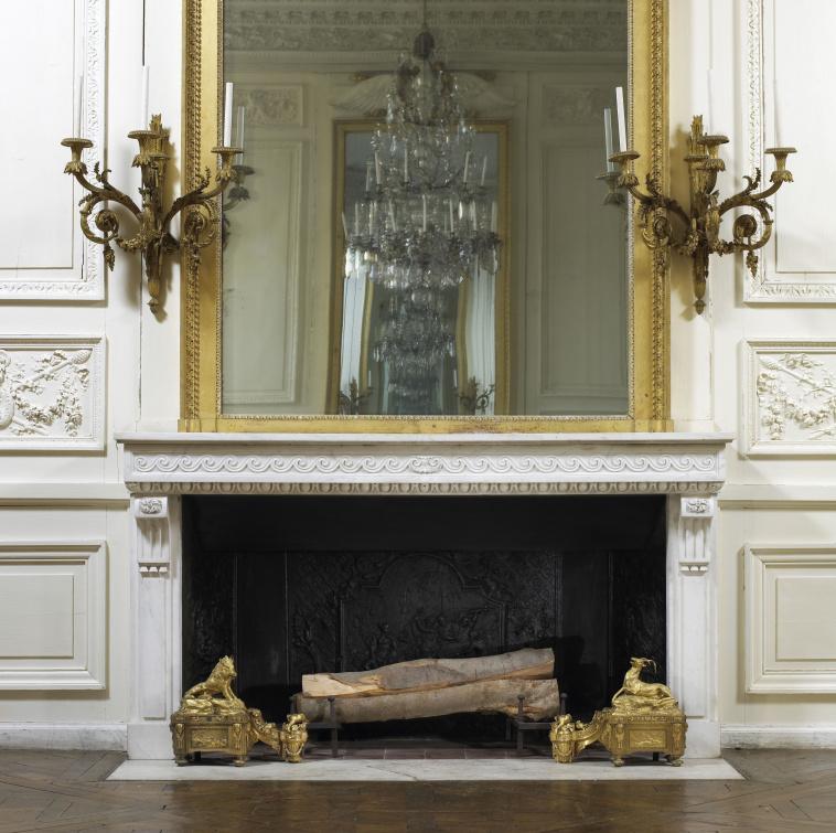 Grand Foyer De L Art Roman : Th��tre imp�rial vue sur la chemin�e du foyer