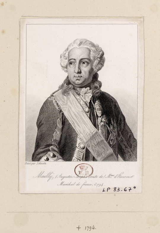 Billedresultat for Augustin-Joseph de Mailly