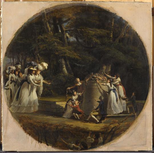 Victor-Amédée Faure | Madame la duchesse d'Orléans, aux eaux de Spa |  Images d'Art
