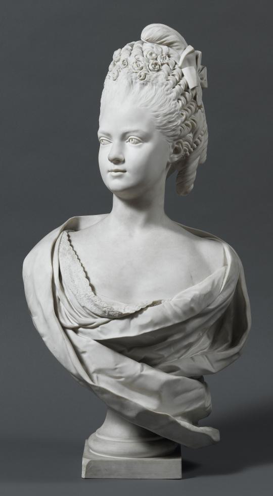 """Résultat de recherche d'images pour """"buste de Madame Clotilde"""""""
