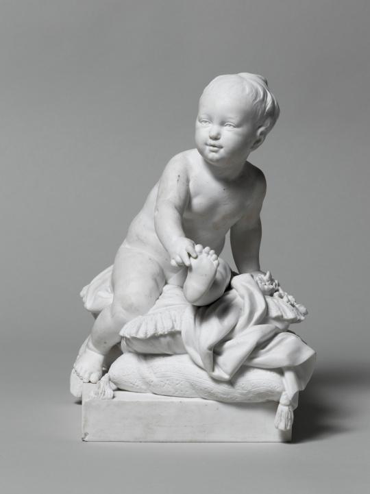 d'après Clodion | Madame Royale bébé dit l'Enfant aux Coussins ...