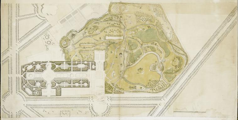Grand projet pour la reconstruction du ch teau de for Trianon plan salle