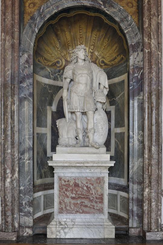 Jean Warin | Statue de Louis XIV, roi de France et de Navarre (1638-1715) |  Images d'Art