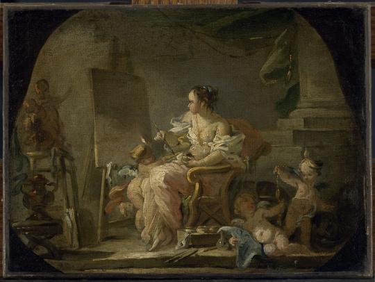 Fran ois boucher all gorie de la peinture images d art for Boucher peintre
