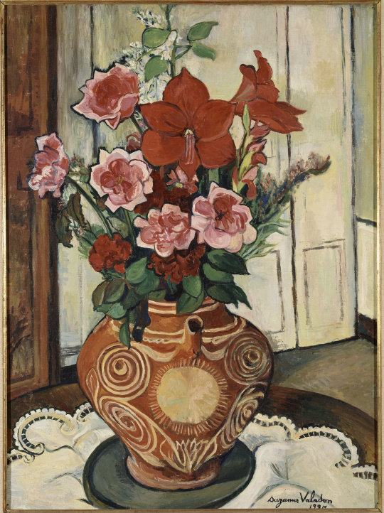 suzanne valadon bouquet de fleurs images d art. Black Bedroom Furniture Sets. Home Design Ideas