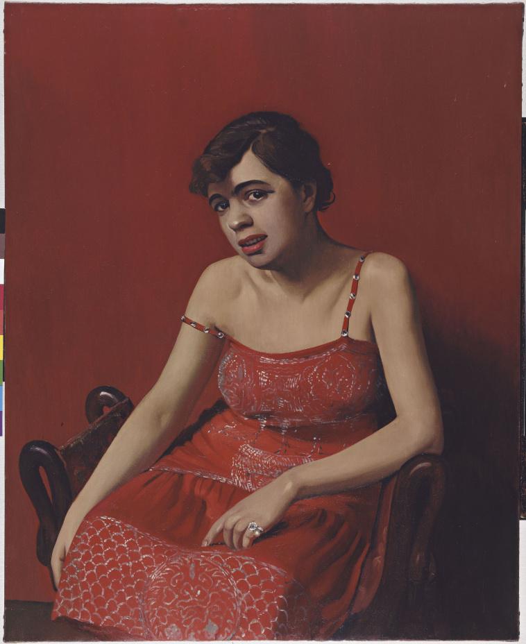 f lix vallotton femme nue assise dans un fauteuil rouge images d art. Black Bedroom Furniture Sets. Home Design Ideas