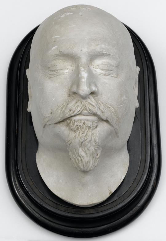 Masque mortuaire de Napoléon III   Images d'Art
