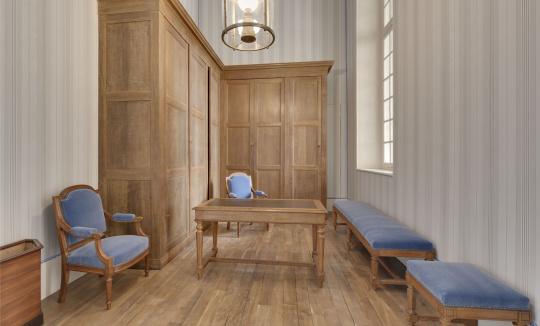 cabinet de travail de napol on iii bureau de l 39 huissier images d art. Black Bedroom Furniture Sets. Home Design Ideas