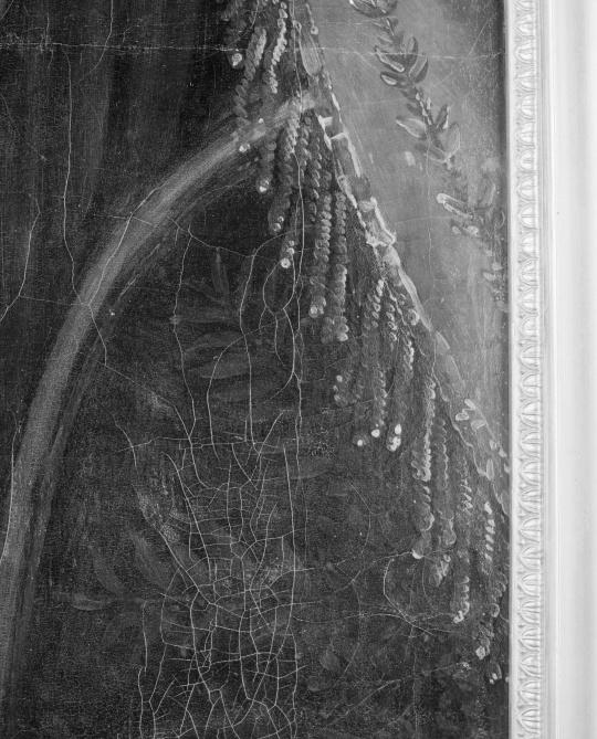 berceau du roi de rome d tail des rideaux du berceau images d art. Black Bedroom Furniture Sets. Home Design Ideas