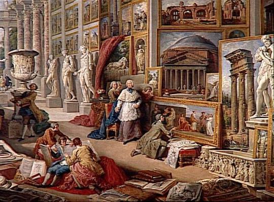 paolo pannini galerie de vues de la rome antique images d