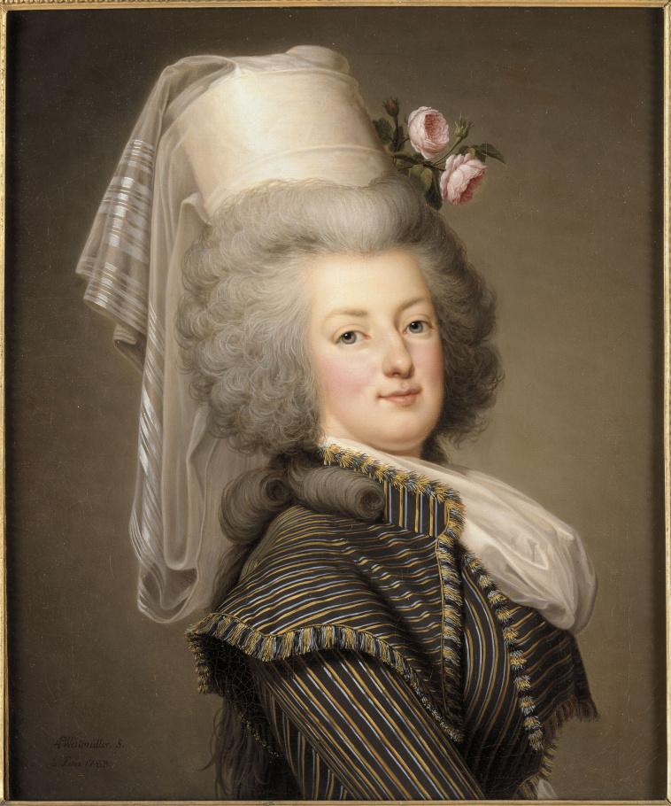 Adolf Ulrik Wertmuller | Marie-Antoinette de Lorraine-Habsbourg, reine de  France, en habit d'amazone en 1788 (1755-1793) | Images d'Art
