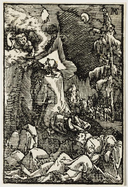 Albrecht altdorfer le christ au jardin des oliviers for Au jardin des oliviers